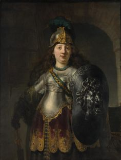 "spoutziki-art: ""  Rembrandt van Rijn - Bellona, 1633 The Metropolitan Museum of Art """