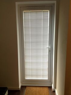 Intu Pleated Blinds Fitted To Door