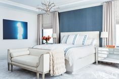 """New York Cottages & Gardens: October 2015 issue """"Inside a Modern Art-Filled Family Home"""" http://www.cottages-gardens.com/New-York-Cottages-Gardens/October-2015/Park-Avenue-Duplex-Eric-Cohler-Tony-Klein/. - Designers Eric Cohler and Tony Klein from Eric Cohler Design and Stephen Fanuka """"Contractor to the Stars"""" Photography by Fran Parente Photography"""