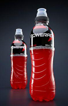Powerade in NitroHotfill bottles made by Krones