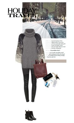 """""""''Life's not meant to be lived in one place''"""" by crazydita ❤ liked on Polyvore featuring Ragdoll, Yves Salomon, Stephane Kélian and travelinstyle"""