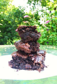 Chocolate Fudge Zucchini Brownies