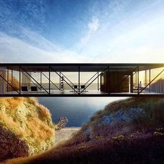The weekend is just around the corner and Craig Ellwood's The Bridge or Weekend House looks like the perfect combination of architecture and nature.