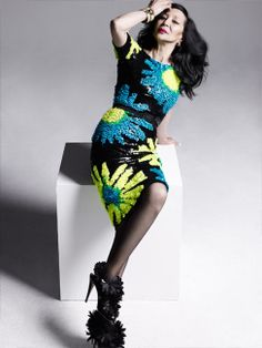 China Machado, Fashion Magazine, April 2012