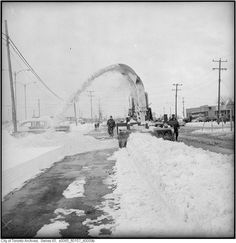 It's probably fair to say that the experience of dealing with snow is somehow crucial to understanding what life is like in Toronto, even if it's j. Life Is Like, What Is Life About, Vintage Photographs, Vintage Photos, Toronto Ontario Canada, Winter Beauty, Montreal, Ems, Ships