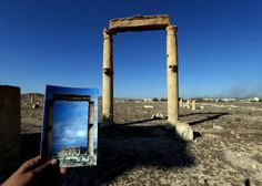 Missing monuments: Before & After pics of Palmyra show what ISIS has destroyed Syria Before And After, Before And After Pictures, Joseph, Capture Photo, Historical Monuments, Ancient Ruins, Baghdad, Old City, Places