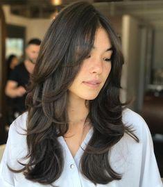 Medium Hair Cuts, Long Hair Cuts, Medium Hair Styles, Curly Hair Styles, Layered Long Hair, Thick Long Hair Styles, Medium Hair With Layers, Straight Hair, Haircuts For Long Hair With Layers