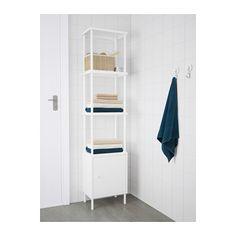 """$59.99//DYNAN Shelf unit w/cabinet  - IKEA Size: 15 3/4x10 5/8x67 3/4 """""""