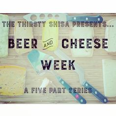 Beer and Cheese Week has officially kicked off! Link in profile. Check out the blog and keep coming back this whole week for more cheesy goodness! Cheers  #okinawa #thirstyshisa #thecheeseguy #beerandcheeseweek
