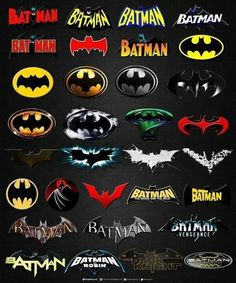 Logotipos do Batman