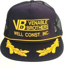 Venable Brothers Well Construction Inc Trucker Hat Baseball Cap Mesh Snapback #Nissin #TruckerHat