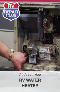 Learn more about your RV's water heater.
