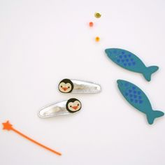 Penguin Clips by Hello Shiso | Darling Clementine