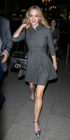 Look of the Day - Jennifer Lawrence from InStyle.com