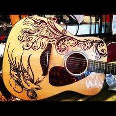 art on guitar - Google Search