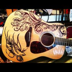 art on guitar - Google Search