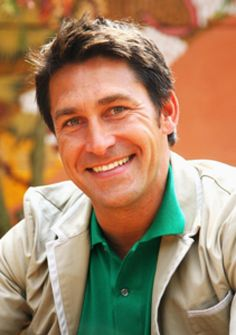Jamie Durie (from Outdoor room HGTV) What a cutie. Star Gardener Durie is Keeping Busy