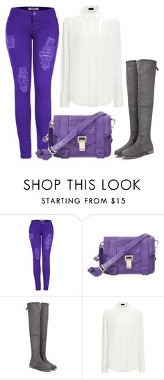 """""""bkjnl."""" by v-askerova on Polyvore featuring мода, 2LUV и Proenza Schouler"""