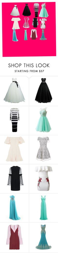 """""""Untitled #81"""" by alyssa-dudley-1 ❤ liked on Polyvore featuring Vera Wang, Valentino, Carolina Herrera, Mother of Pearl, WithChic and Marni"""