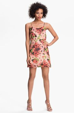 BB Dakota Floral Print Fit & Flare Dress available at Nordstrom