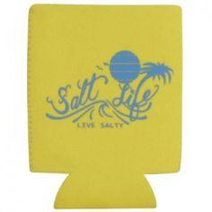 Salt Life On The Horizon Can Koozie (Yellow;One Size)