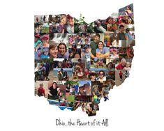 Ohio State, Ohio State Sign, Personalized Ohio State Gift, Photo Collage, Custom Ohio Print, Wall Art by LuluBluePhoto on Etsy https://www.etsy.com/listing/592742234/ohio-state-ohio-state-sign-personalized