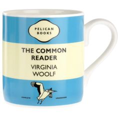 The Common Reader Penguin Mug Description A mug celebrating Virginia Woolf s collection of writings on literature One of a series of mugs in varying