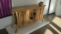 The beautiful ORCO sideboard handmade using scottish elm and burr elm