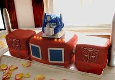 how to make an optimus prime cake - Google Search