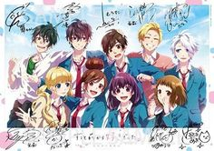 Kokuhaku no oto honeyworks Anime Best Friends, Friend Anime, Anime Love, Kawaii Anime, Anime Disney, Zutto Mae Kara, Manga Anime, Anime Art, Honey Works