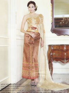 Thailand Pictures Of Wedding Attirer Google Search Picturesthai Traditional Dressthai