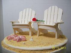 Cakes By Chris: Adirondak Chair Template
