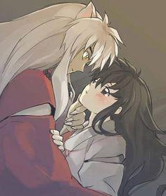 Inuyasha and Kagome ready for romance! Amor Inuyasha, Inuyasha Fan Art, Inuyasha And Sesshomaru, Kagome And Inuyasha, Inuyasha Memes, Kirara, Miroku, Kagome Higurashi, Manga Anime