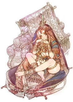 I'm waiting for someone- Tree of Savior Art