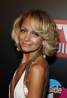 "19 Pretty, Medium-Length Hairstyle Ideas: Nicole Richie Goes ""Charlie's Angels"""