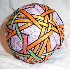 Temari balls – combining colour | Japanese Textiles