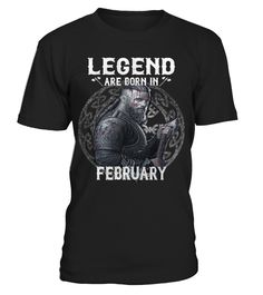 Legend Viking Are Born In February2  #yoga #idea #shirt #tzl #gift #gym #fitness