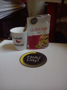 A może od samego śniadania chcesz być #Glamour? To idealny moment na #HelloDay! #udanydzień #Smacznego dla Paula To Ja :) #Rekomendujto