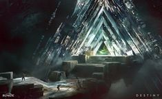 Destiny: Vault of Glass, Jesse van Dijk on ArtStation at http://www.artstation.com/artwork/destiny-vault-of-glass