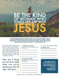 Free printout for your Bible Study study devotional time. Also great for small groups, youth groups, college groups, women groups, etc. #HerBinderProject