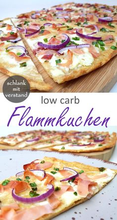 Flammkuchen low carb - - Flammkuchen low carb Low Carb Rezepte Flammkuchen low carb A simple low carb recipe. Perfect for losing weight as part of a low / lchf / keto diet. In my recipe overview you will find more than 250 delicious low carb recipes Low Carb Chicken Recipes, Healthy Low Carb Recipes, Diet Recipes, Smoothie Recipes, Smoothie Diet, Pizza Recipes, Papaya Smoothie, Smoothie Packs, No Carb Recipes