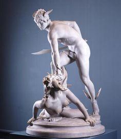 Laurent Honoré Marqueste,   Perseus beheading Medusa