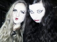 #halloween #makeup #blonde #brunette #poland