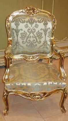 Gorgeous Gold Chair