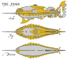 The Argo Submarine #nautilus « C.O.G. Chronicles - The Graphic Novel