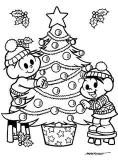 10 Desenhos de Natal para Colorir e imprimir - SÓ ESCOLA Printable Adult Coloring Pages, Princesas Disney, Xmas Decorations, Winter Time, Coloring Sheets, Christmas And New Year, Turtle, Snoopy, Clip Art
