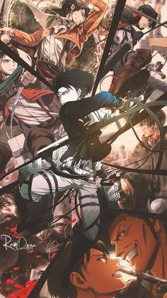 Ideas Wall Paper Anime Attack On Titan Levi Ackerman For 2019 Manga Anime, Fanarts Anime, Manga Art, Anime Guys, Anime Characters, Anime Art, Anime Figures, Attack On Titan Episodes, Attack On Titan Fanart