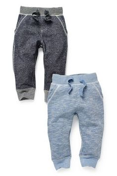 Buy Textured Joggers Two Pack (3mths-6yrs) from the Next UK online shop