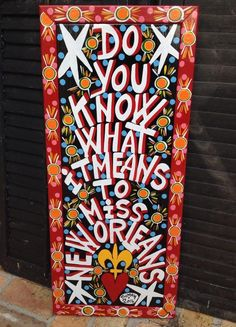 Fleurty Girl - Everything New Orleans - Do You Know What It Means... Art by Simon