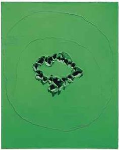 Lucio Fontana (1899-1968), Concetto spaziale, Executed in 1963-64  https://www.artexperiencenyc.com/social_login/?utm_source=pinterest_medium=pins_content=pinterest_pins_campaign=pinterest_initial
